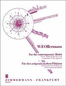 The etude book For the Contemporary Flutist by Wil Offermans