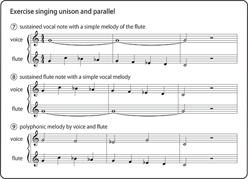 Exercise for Singing and Playing