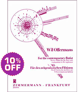 the etude book For the Contemporary Flutist